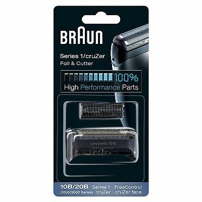 Braun 10B/20B Electric Shaver Replacement Foil and Cutter Original / Brand New