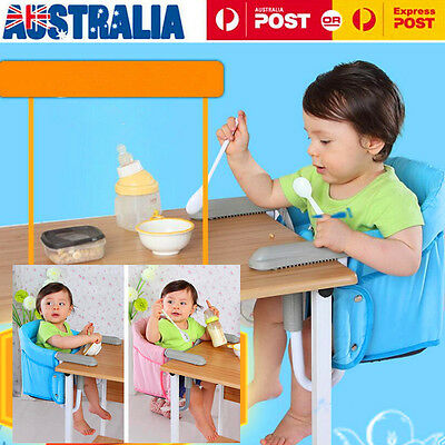Childcare Hook On Table Harness Feeding Portable Baby Booster High Chair Seat