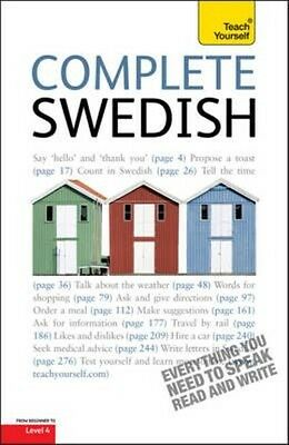 Complete Swedish Beginner to Intermediate Course by Vera Croghan Paperback Book