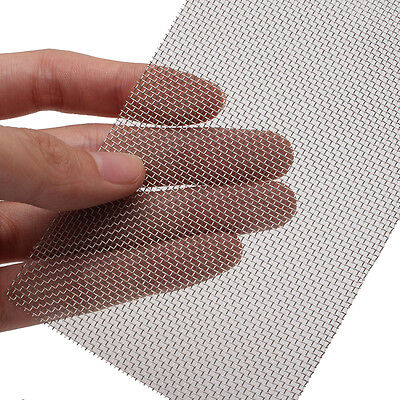 20 Mesh 304 Stainless Steel Woven Wire Filtration Filter Screen Sheet 8cm x 15cm