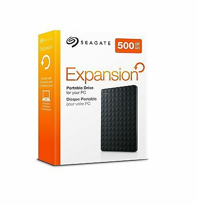 Seagate Expansion Portable 500GB 2,5'' 500 GB Festplatte External Hard Drive USB