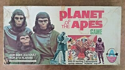 Vintage Planet of the Apes Game  By Arrow 1974
