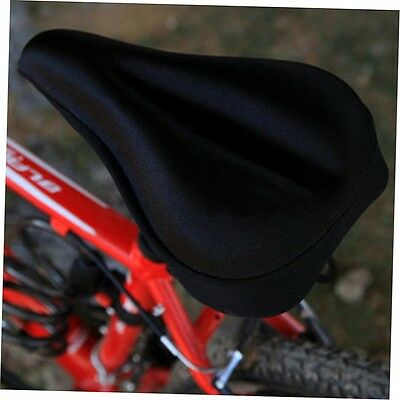 Silicone Gel Thick Soft Bicycle Bike Cycling Saddle Seat Cover Cushion Pad ZX