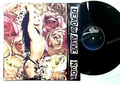 Dead Or Alive - Nude US LP 1989 + Innerbag //1