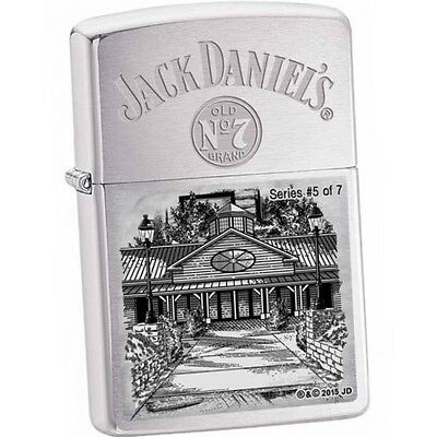 JACK DANIELS ZIPPO Scenes From Lynchburg #5 LIMITED neu+ovp Collection 2015