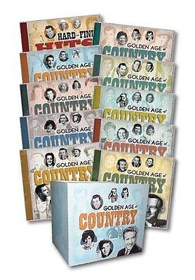 Golden Age Of Country Set Various New Cd