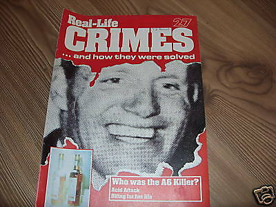 Real-Life Crimes Magazine*27*who Was The A6 Killer?*true Crime*english*