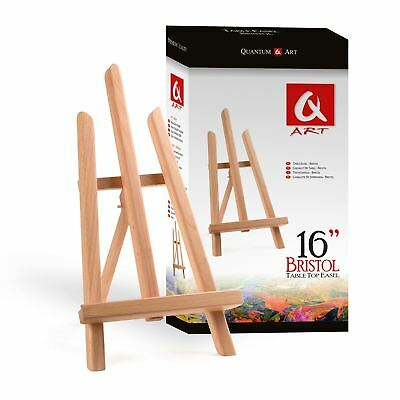 Wooden Bristol Artist Easel Artwork Display, Table Setting, Art Craft Wedding