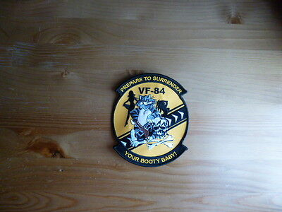 VF-84 Patch Jolly Rogers Surrender your Booty B Nimitz F14 Tomcat VF-103 Hornet