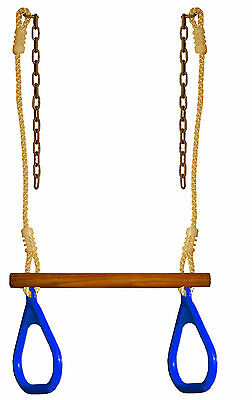 Swing Set Playground Play Set Trapeze Bar Ring Backyard Play Gungle