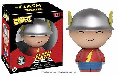 Funko Dorbz DC Golden Age Flash Specialty Series Vinyl Action Figure