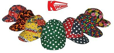 Genuine KROMER Welding / Welders Cap / Hat (CHOOSE YOUR DESIGN) - All Sizes