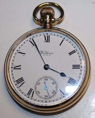 Quality Engraved Waltham 9 ct. Gold Pocket Watch