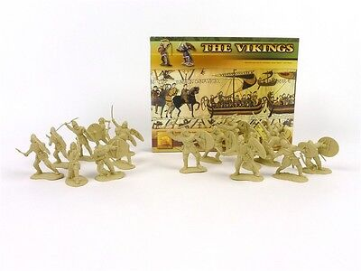 Conte Collectibles Vikings Plastic Figures 54mm Toy Soldiers Set 2