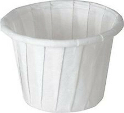 Disposable Paper Portion Cups Souffle 1oz (250 Count)