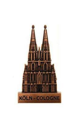 Köln Cologne Dom 3D Metall Fridge Magnet Souvenir Germany,edel !,redbronze