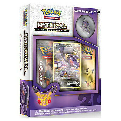 Pokemon TCG Genesect Mythical Collection