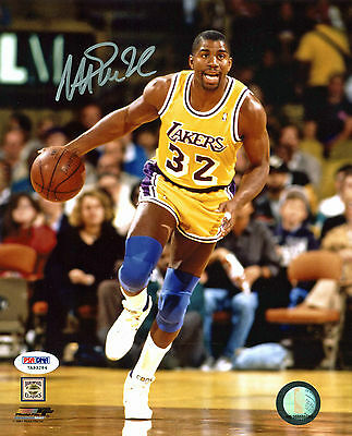 Lakers Magic Johnson Authentic Signed 8X10 Photo Autographed PSA/DNA ITP 6