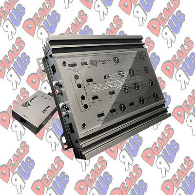 Zapco ASP-X4 Car Audio 8-Ch Extremely Versatile Analog Electronic Crossover New