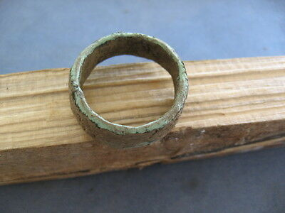 EXTRA LARGE 14 grams ANCIENT CELTIC BRONZE RING PROTO MONEY 600-400 BC