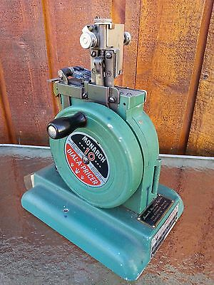 DIAL A PRICE Monarch Marking System Pathfinder price tag ticket machine 1940's