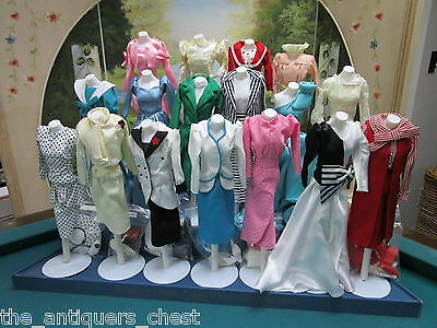 1980's New Danbury Mint Princess Diana Royal Wardrobe Collection 17 Outfits