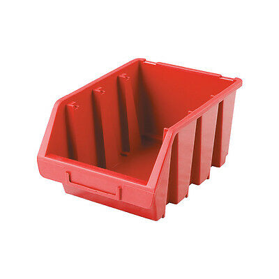 Matlock Mtl2A Hd Plastic Storage Bin Red