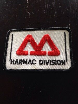 """Harmac Division 3"""" Patch Sew On Transport Trucking"""