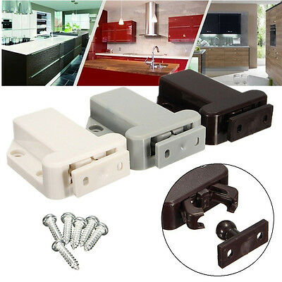 Push To Open Beetles Magnetic Door Drawer Cabinet Catch Touch Latch Cupboard ABS