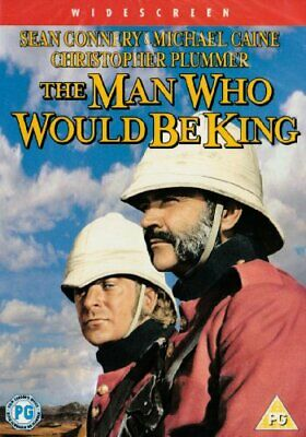The Man Who Would Be King [DVD] - DVD  80VG The Cheap Fast Free Post