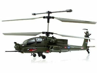 Syma Latest S113G 3.5CH Apache RC  Military Coaxial RC Gyro Helicopter