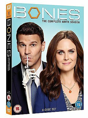 Bones - Season 9 [DVD] Complete Ninth Series 6 Discs Box Set BRAND NEW REGION 2