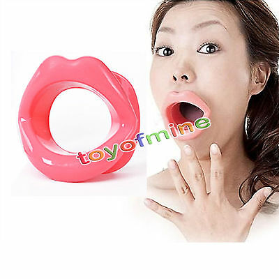 Rubber Mouth Gag Open Fixation Stuffed Oral Toys Restraint Bondage