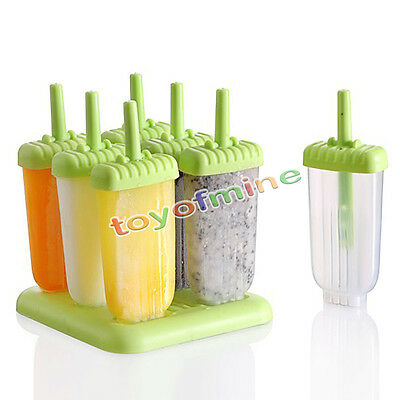 Kitchen DIY Pop Mold Popsicle Maker Lolly Mould Tray Pan Frozen Ice Cream Mould