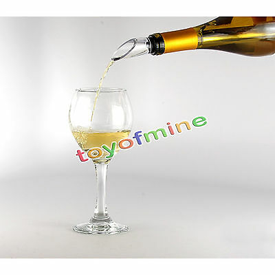 1X Wine Chill Stick Stainless Steel Chiller Cooler Pour Spout In Bottle Freeze