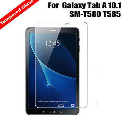 """New Explosion Proof Tempered Glass Screen Protector For Galaxy Tab A 10.1"""" T580"""