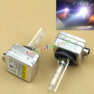 2 x D1S HID Xenon 35W Bulbs Replacement Headlight 6000K for BMW Audi VW MERCEDES