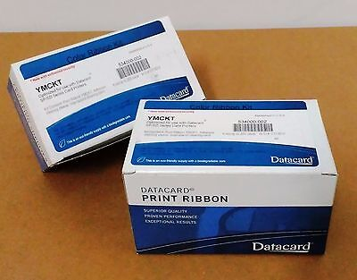 Datacard original YMCKT ribbon 250 prints P/N 534000-002