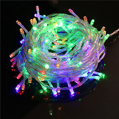 Waterproof 300 LED 50M Fairy String Lights For Christmas Tree Xmas Party Wedding