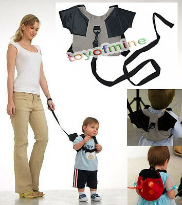 1XBaby Kid Keeper Toddler Walk Safety Harness Backpack Bag Strap Rein two Choice