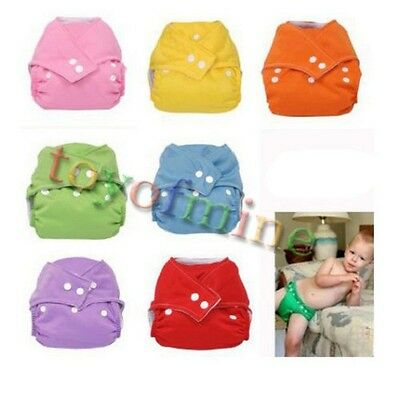 Adjustable Reusable kids Washable Cloth Diaper Nappy Covers Cotton