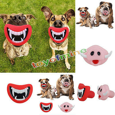 Sound Squeaky Chew Toys Puppy Activity Toy Pet Dog Giggle Treat Training Chew