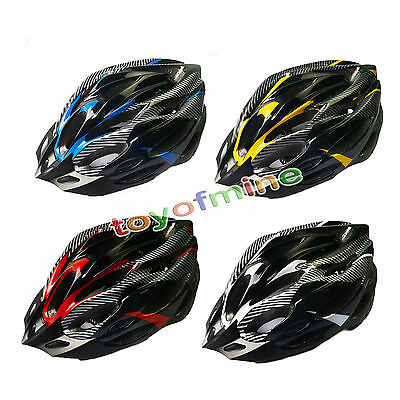 New Road Bike Racing Bicycle Cycling Helmet Visor Adjustable Carbon