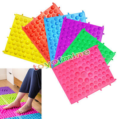 Acupuncture Foot Massage Mat Non Slip Bath Feet Massager Medical Therapy