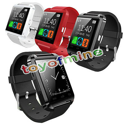 U8 Smart Wrist Watch Bluetooth Phone Mate For Android iphone Samsung w/Package