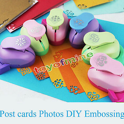 Paper Card Scrapbook Large Embossing Device Hole Punch Kids Handmade Craft Gift
