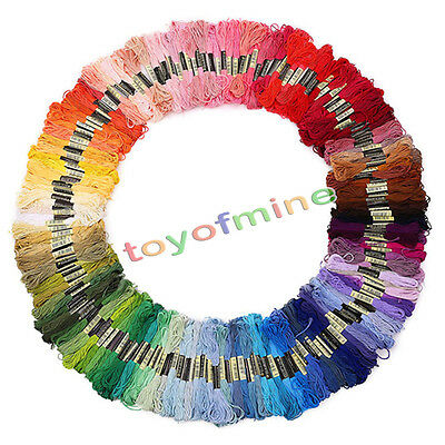 50 Cotton Stranded Thread Skeins Cross Stitch Cotton Thread Floss