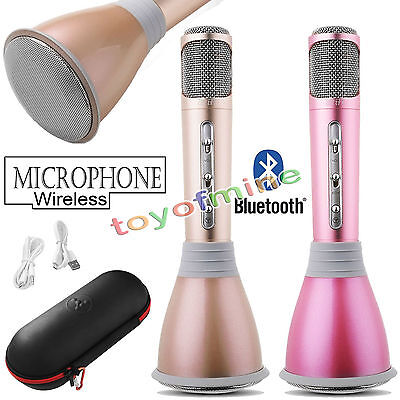 New K068 Home KTV Karaoke Microphone Player Bluetooth Mic Speaker For PC Phone