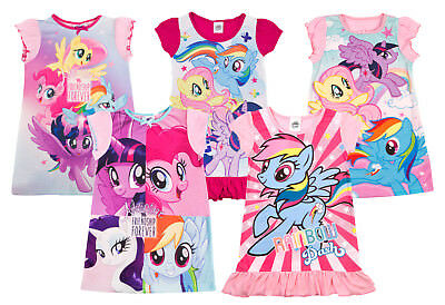 Girls My Little Pony Nightdress Nighty MLP Character Pyjamas PJs Nightie Size