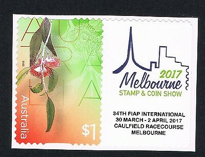 Australia 2017 Melbourne World Stamp & Coin Show Scarce Single P Stamp Bargain!